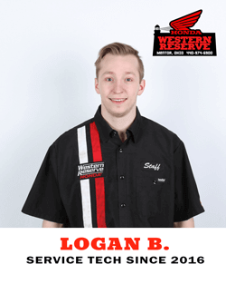 Logan B. Service Tech Since 2016