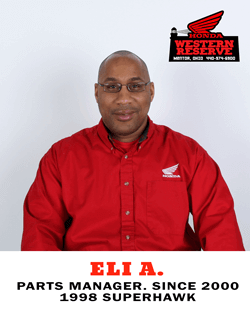 Eli A. Parts Manager Since 2000