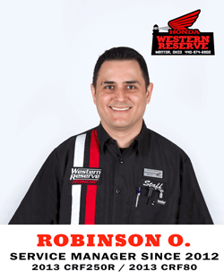 Robinson O. Service Manager Since 2012